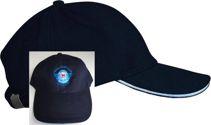 Cap navy blue met clublogo
