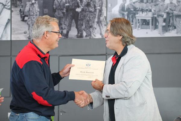 Henk Bannink benoemd tot erelid