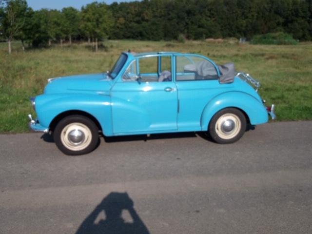 Te koop Morris Minor Tourer 1958 en veel onderdelen