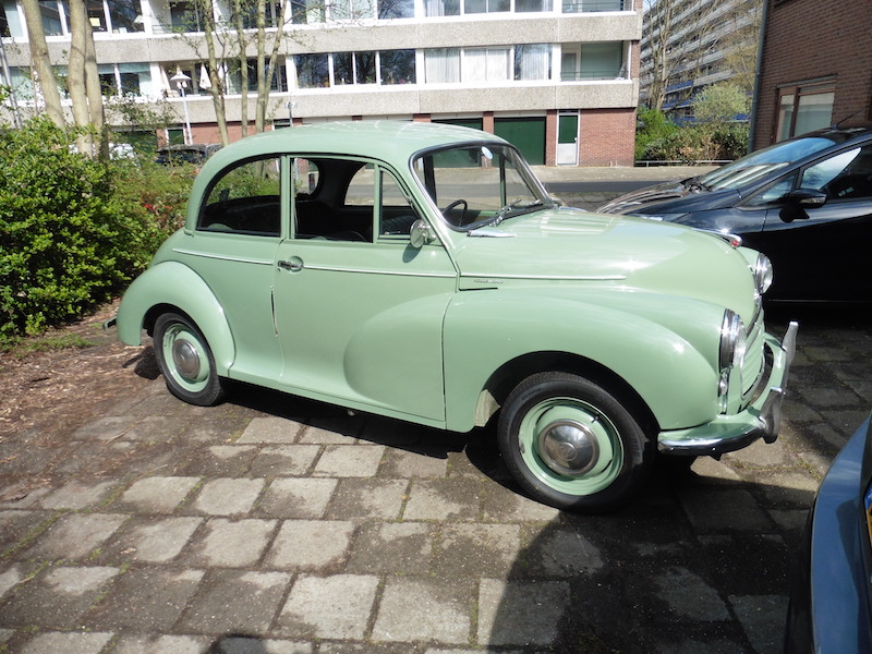 Morris Minor 1000 Saloon 1959.