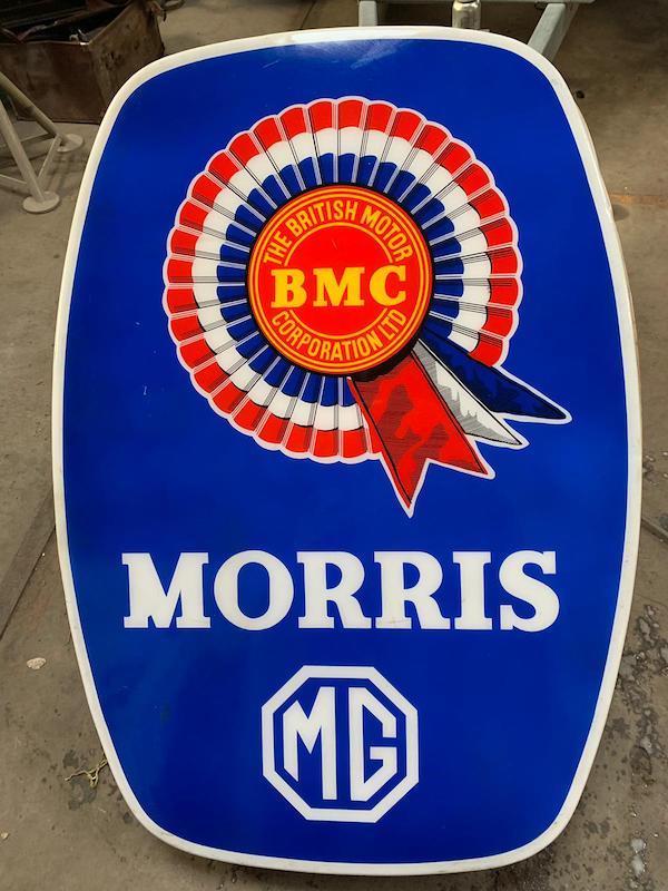 Lichtreklamebord van Morris