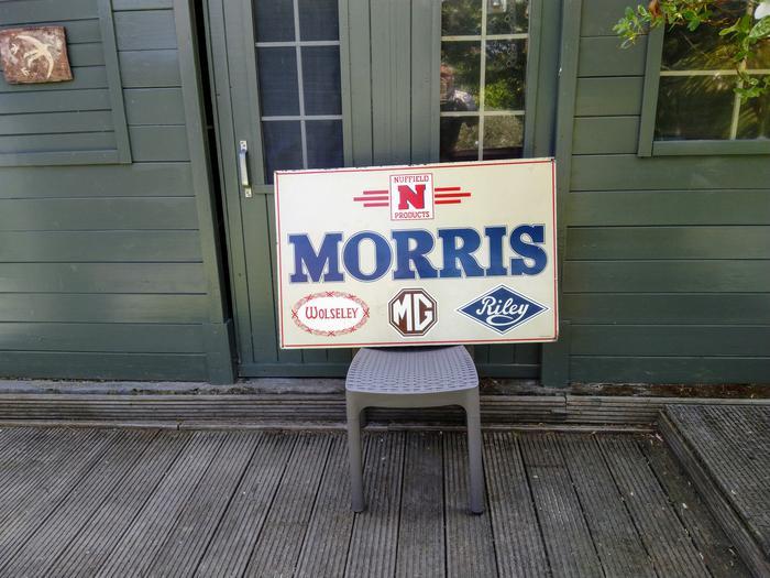 Garage-bord Morris