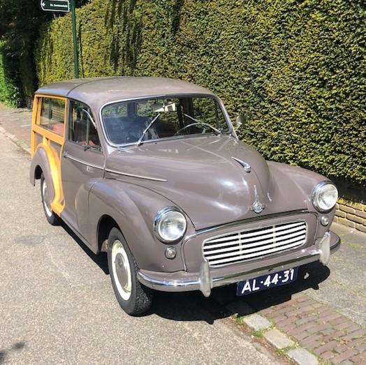 Te koop: Morris Minor Traveller uit 1962