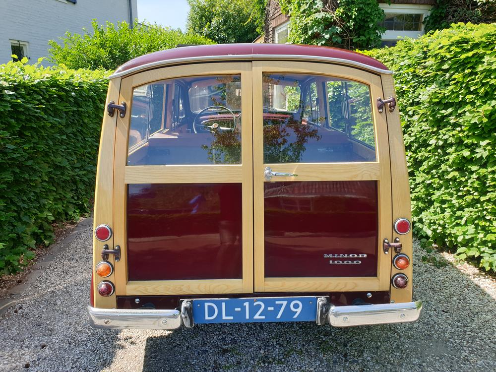 Te koop Morris Minor Traveller 1968