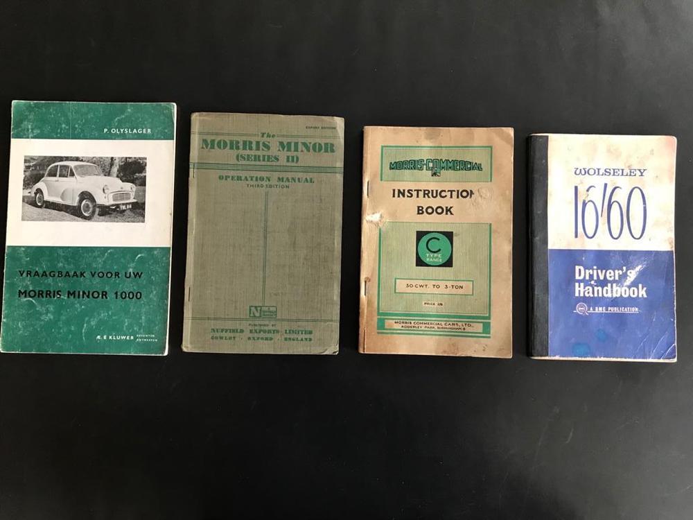 Instructieboekjes te koop